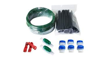 RepairKit: 20 meter perimeter wire (3 cable plugs, 6 cable connectors 314, 2 cable connector U1B, 20 pegs)